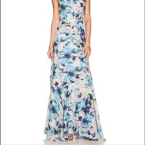 NWOT Parker SILK/Floral Print Dress